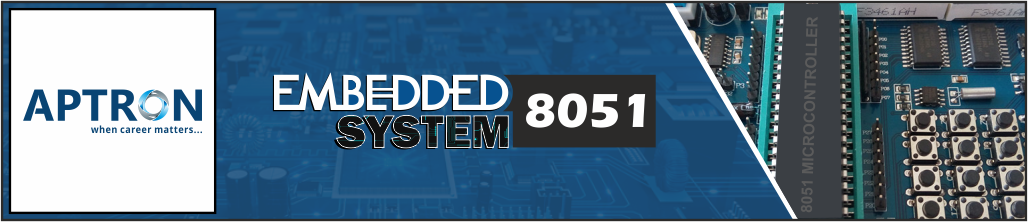Best embedded-system-with-8051 training institute in gurgaon